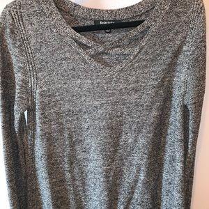 Sweaters - criss cross sweater